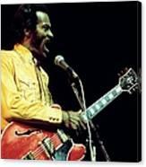 Photo Of Chuck Berry Canvas Print