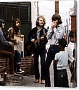 Photo Of Creedence Clearwater Revival Canvas Print