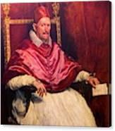 Pope Innocent X Canvas Print