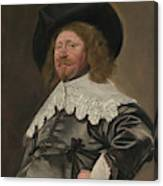 Portrait Of A Man  Possibly Nicolaes Pietersz Duyst Van Voorhout  Canvas Print
