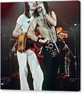 Queen In Concert Canvas Print