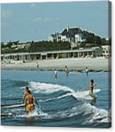 Rhode Island Surfers Canvas Print