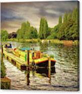 River Work Canvas Print