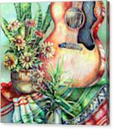 Room For Guitar Canvas Print