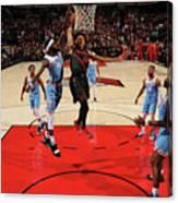 Sacramento Kings V Portland Trail Canvas Print
