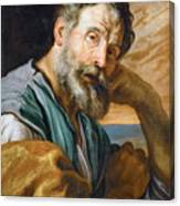 Saint Peter Repenting  Canvas Print