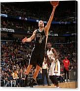 San Antonio Spurs V New Orleans Pelicans Canvas Print
