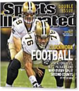 San Diego Chargers V New Orleans Saints Sports Illustrated Cover Canvas Print