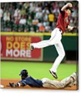 San Diego Padres V Houston Astros Canvas Print
