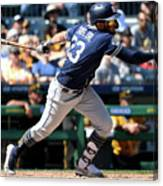 San Diego Padres V Pittsburgh Pirates Canvas Print