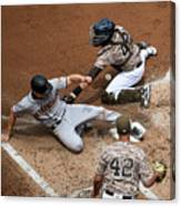 San Franciso Giants V San Diego Padres 1 Canvas Print