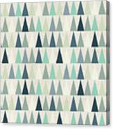 Seamless Geometric Pattern On Paper Canvas Print
