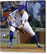 Seattle Mariners V Chicago Cubs 1 Canvas Print