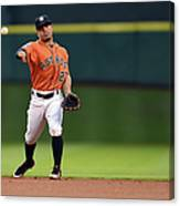 Seattle Mariners V Houston Astros Canvas Print