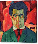 Self Portrait, 1910 Canvas Print