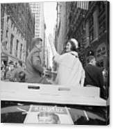 Senator John Kennedy And Jackie Kennedy Canvas Print