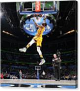 Sprite Slam Dunk Contest Canvas Print