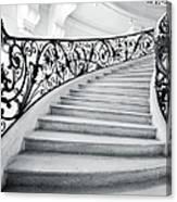 Staircase In Paris Canvas Print