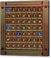 Standards Of Roman Imperial Legions - Legionum Romani Imperii Insignia Canvas Print