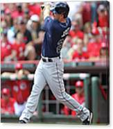 Tampa Bay Ray V. Cincinnati Reds 1 Canvas Print