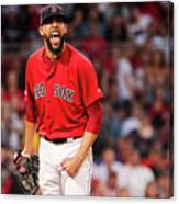 Tampa Bay Rays V Boston Red Sox - Game 1 Canvas Print