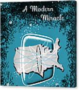 Television, A Modern Miracle Canvas Print