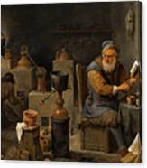 The Alchemist  Canvas Print