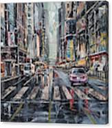 The City Rhythm Canvas Print