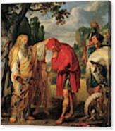 The Consecration Of Decius Mus        Canvas Print