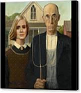 The Farmer And Adele Canvas Print