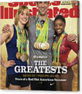 The Greatests Ledecky  Phelps  Biles Sports Illustrated Cover Canvas Print