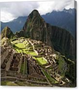 The Lost Inca City Of Machu Picchu Canvas Print