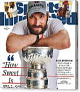 The Ultimate Trifecta 3 Days, 3 Champions Sports Illustrated Cover Canvas Print