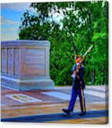 Tomb Of The Unknown Soldier Painting Canvas Print