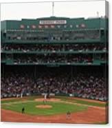 Toronto Blue Jays V Boston Red Sox Canvas Print