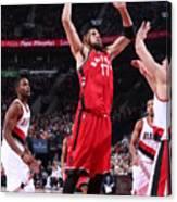 Toronto Raptors V Portland Trail Blazers Canvas Print