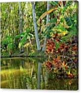 Tropical Corner Canvas Print