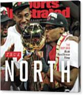 True North Toronto Raptors, 2019 Nba Champions Sports Illustrated Cover Canvas Print