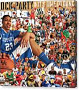University Of Kentucky Anthony Davis, 2012 March Madness Sports Illustrated Cover Canvas Print