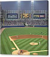 Usa, Illinois, Chicago, White Sox Canvas Print