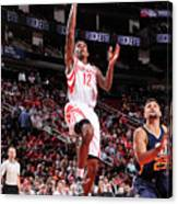 Utah Jazz V Houston Rockets Canvas Print