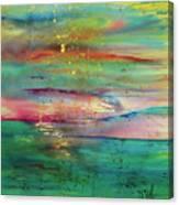 Vintage Sunset Canvas Print