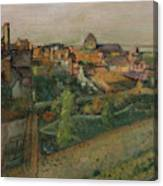 View Of Saint Valery Sur Somme  Canvas Print