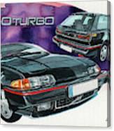 Volvo 480 Turbo Canvas Print