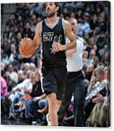 Washington Wizards V San Antonio Spurs Canvas Print