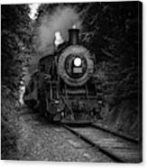 Whistle Through The Forest Canvas Print