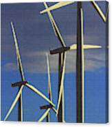 Wind Power Art  Canvas Print