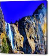 Winter Bridalveil Falls Canvas Print