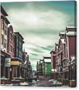 Winter Morning - Park City, Utah Canvas Print