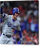 World Series - Los Angeles Dodgers V 1 Canvas Print